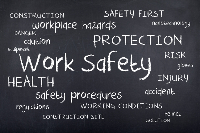 Health & Safety words - Shutterstock